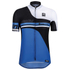 Santini Air Form Short Sleeve Jersey - Blue: Image 2
