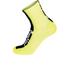 Santini Flag High Profile Coolmax Socks - Yellow: Image 1