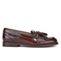 H Shoes by Hudson Women's Britta Hi Shine Tassle Loafers - Bordo: Image 1