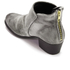 H Shoes by Hudson Women's Apisi Velvet Heeled Ankle Boots - Grey: Image 4