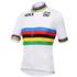 Santini UCI World Road Champion Short Sleeve Jersey - White: Image 1