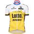 Santini Lotto Jumbo 16 Short Sleeve Jersey - Black: Image 2