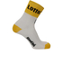 Santini Lotto Jumbo 16 Coolmax Socks - Black/Yellow: Image 1