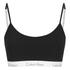 Calvin Klein Women's CK One Logo Bralette - Black: Image 1