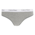 Calvin Klein Women's CK One Logo Thong - Grey Heather: Image 1