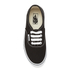 Vans Kids' Authentic Trainers - Black/True White: Image 3