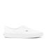 Vans Men's Authentic Decon Premium Leather Trainers - True White: Image 1