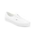 Vans Men's Authentic Decon Premium Leather Trainers - True White: Image 2