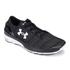 Under Armour Men's SpeedForm Turbulence Running Shoes - Black/White: Image 2