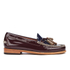 Bass Weejuns Women's Estelle Leather Loafers - Bordo/Navy: Image 1