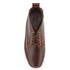 Bass Weejuns Men's Ranger Camp Moc Leather Lace Up Boots - Dark Brown: Image 3