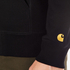 Carhartt Men's Hooded Chase Jacket - Black/Gold: Image 6