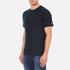 Carhartt Men's Short Sleeve Base T-Shirt - Navy/White: Image 2