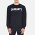 Carhartt Men's College Sweatshirt - Navy/White: Image 1