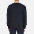 Carhartt Men's College Sweatshirt - Navy/White: Image 3