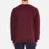 Carhartt Men's College Sweatshirt - Chianti/White: Image 3