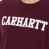 Carhartt Men's College Sweatshirt - Chianti/White: Image 5