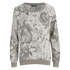 ONLY Women's Rimi Long Sleeve Loose Top - Grey: Image 1