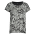 ONLY Women's RimiMono Snake Loose Top - Gray Violet: Image 1