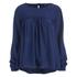 ONLY Women's Rush Denim Long Sleeve Top - Dark Blue Denim: Image 1