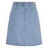 ONLY Women's Farrah A-Line Denim Skirt- Light Blue Denim: Image 2