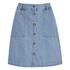 ONLY Women's Farrah A-Line Denim Skirt- Light Blue Denim: Image 1