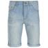 Threadbare Men's Denim Shorts - Light Wash: Image 1