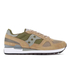 Saucony Men's Shadow Original Trainers - Taupe/Green: Image 1
