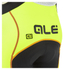 Alé PRR Bermuda Bib Shorts - Yellow/Orange: Image 3
