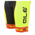 Alé PRR Bermuda Bib Shorts - Yellow/Orange: Image 4