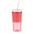 Contigo Shake & Go Tumbler with Straw (530ml) - Watermelon: Image 1