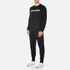 Converse Men's All Star Shield Reflective Print Crew Sweatshirt - Black: Image 4