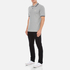 Converse Men's All Star Core Polo Shirt - Vintage Grey Heather: Image 4