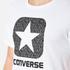 Converse Men's All Star Shield Reflective Rain Box Star T-Shirt - White: Image 5