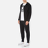 Converse Men's All Star Shield Reflective Detail Knit Pants - Black: Image 4