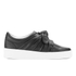 Senso Women's Annie Front Bow Leather Slip On Trainers - Ebony: Image 1