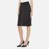 Carven Women's Full Zip Pencil Skirt - Black: Image 2