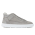 ETQ. Men's Mid Top 2 Leather Trainers - Alloy: Image 1