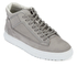 ETQ. Men's Mid Top 2 Leather Trainers - Alloy: Image 2