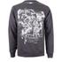 Marvel Men's Band of Heroes Sweatshirt - Dark Grey Marl: Image 1