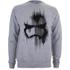 Star Wars Men's Storm Trooper Mask Sweatshirt - Light Grey Marl: Image 1