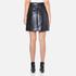 MSGM Women's Metallic Tweed Skirt - Blue: Image 3