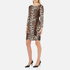 Boutique Moschino Women's Zip Pleat Dress - Leopard: Image 2