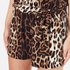 Boutique Moschino Women's Tie Waist Playsuit - Leopard: Image 5