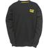 Caterpillar Men's Trademark Crew Sweatshirt - Black: Image 1