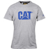 Caterpillar Men's Logo T-Shirt - Grey: Image 1