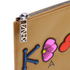 KENZO Women's Occassions A4 Clutch - Tan: Image 4