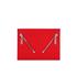 KENZO Women's Kalifornia Clutch - Red: Image 1