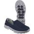 Skechers Men's GOwalk 3 Low Top Trainers - Blue: Image 2