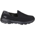Skechers Men's GOwalk 3 Low Top Trainers - Black: Image 1